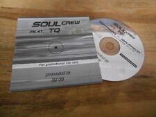 CD Pop Soul Crew feat TQ - Boyfriend Girlfriend (3 Song) Promo SONY UNIT4 cb