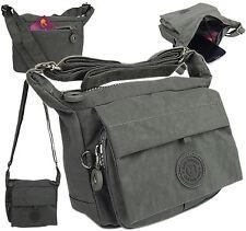 Sportliche Handtasche UMHÄNGETASCHE Wasserabwesende Damentasche 2251 Grau