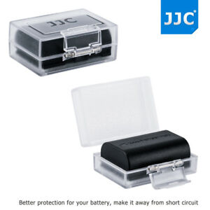 JJC Water-resistant Hard Battery Protective Case  for Canon Nikon Sony Camera