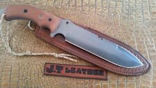 JT Custom Leather Sheath ONLY NO Knife Blade Blank TOPS TAHOMA FIELD BECKER BK7