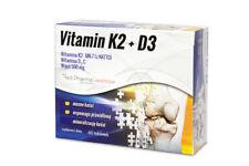 Red PHARMA Vitamina K2 + D3 + wapń 60 delle tabelle.