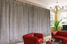 Large Thick Velvet Blockout Curtain 267x 230cm PINCH PLEAT 1 panel +15Hooks
