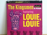 THE  KINGSMEN              LP      LOUIE   LOUIE