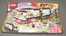 Pop Star Tour Bus LEGO Friends Set 41106 w Livi, Stephanie & Mia Figures NEW