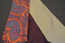Lot of 2 Lands' End Neckties - incredibly cheap price! Grab it! D6