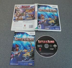 BATTLE OF THE BANDS Wii PAL COMPLETE TESTED WORKING