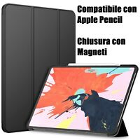Cover IPad PRO 12,9 2018 Custodia Ultra Slim Rigida con Magneti Attiva Display