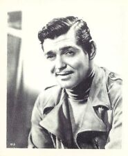 Clark Gable Penny Arcade Movie TV Star Promo B&W Photograph card 1970s