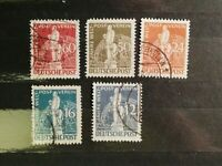 German Stamps -- Germany 1949 Occupation Stamps