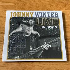 Johnny Winter -  Live In Spain 2008 (CD, NEW, Sealed)