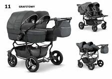 Zwillingskinderwagen Eco Leder Geschwisterwagen Kombikinderwagen Kinderwagen