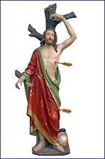Hl. Sebastian, Holz geschnitzt und gefasst - 19. Jahrhundert um 1850   (# 4518 )