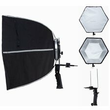"24"" Hexagonal Umbrella Flash Softbox With Hand Grid for sophisticated light"