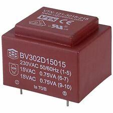Vigortronix VTX-121-3015-215 Encapsulated PCB Transformer 230V 1.5VA 0-15V