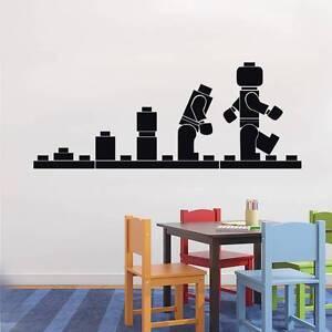 LEGO EVOLUTION Decal WALL STICKER Home Decor Art Vinyl Stencil Kids ST54