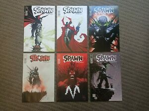 SPAWN -  Issues #185 to 196 complete super set Est - NM !! ENDGAME