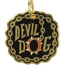 """Metal Pet Charm """" DEVIL DOG """" Dogs Pets Collar Tag  ID Gift Gifts"""