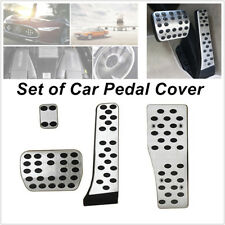Fit For Mercedes-Benz AMG Alloy Car Pedal Covers A E C S GLK CLK W203 W204 W212