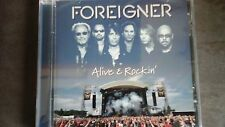 CD - Foreigner – Alive & Rockin' -  9 titres - 2012 - NEUF sous blister