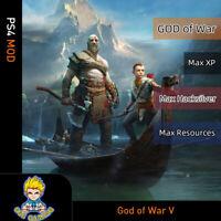 God of War (PS4 Mod)-Max XP/Sliver/Resources/Stats