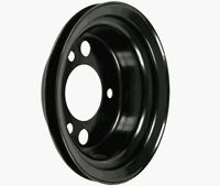 Chevy Power Steering Add-On Crank Pulley, 1 Groove, Small Block Short Water Pump