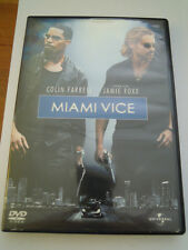 "DVD "" MIAMI VICE "" COLIN FARRELL - JAMIE FOXX - UNIVERSAL -"