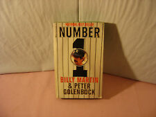 """1981 Dell Book Edition of """"Number 1"""" by Billy Martin & Peter Golenbock"""