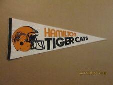 CFL Hamilton Tiger Cats Vintage 2 Bar Facemask Pennant