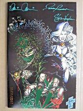1994 CHAOS COMICS EVIL ERNIE: REVENGE #1 SIGNED PULIDO/JENSEN/STEVEN HUGHES COA