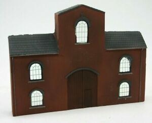 Detailed Model Railway Low Relief Factory  For HO / OO   004