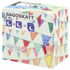 IKEA SAGOSKATT Memory Card Game For Kids - 17 Pairs -Thick Paper Quality