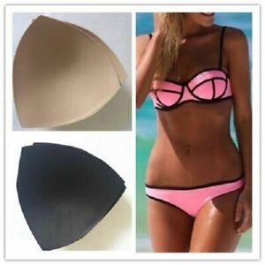 Women's Triangle Bra Pad Sports Bra Bikini Pads Yoga Bra Swimsuit Bralettes Nur