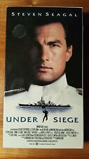 Under Siege  Steven Segal , Tommy Lee Jones and Gary Busey.  VHS, 1993