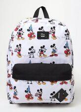 NWT VANS Disney Old Skool II BACKPACK School Book Bag MICKEY HIST Thru the Ages