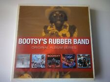 BOOTSY'S RUBBER BAND - ORIGINAL ALBUM SERIES 5 CD SET NEW SEALED 2009 WARNER