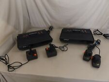 Vintage Atari 2600 Console + Controller Lot