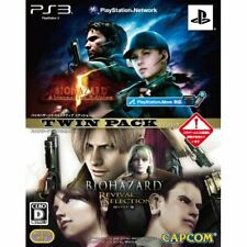 Used PS3 Biohazard 5 AE & Revival Selection HD Twin Pack Japan Import