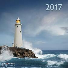 CALENDRIER 2017 - LIGHTHOUSES - 30 x 30 cm