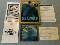Seawolf SSN-21 - PC Computer EA Video Game CD-ROM Classics COMPLETE in Big Box!