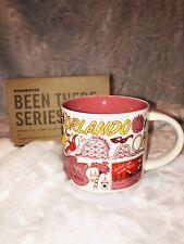 NEW Starbucks-Orlando You Are Here Collection Mug YAH 2018-19