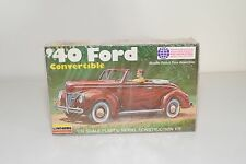 / / LINDBERG 2120 '40 FORD CONVERTIBLE KIT PLASTIC MINT BOXED SEALED