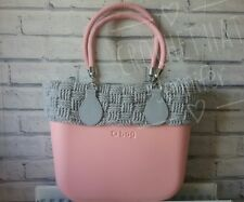 hand made crochet trim to obag classic,   TRIM ONLY , BAG NOT INCLUDED
