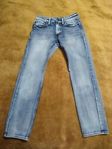 American Eagle Flex/4 360 Slim Men's Blue Jeans Size 26 x 28 🦅