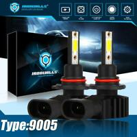 HB3 9005 High Beam LED Headlights White 6000K Car Lamps Bulbs Kit 330000LM HID