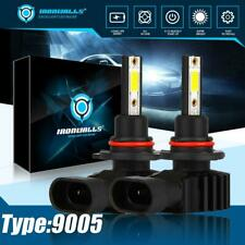 HB3 9005 High Beam LED Headlights White 6000K Car Lamps Bulbs Kit 330000LM HID