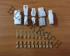 5x Connector Plug 2 pins for Toyota Celica RA20 TA22 RA23 TA23 TA27 TA28 RA28
