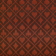 PRO Suited Speed Cloth for Poker Tables - Two-Tone Red (6 Feet)