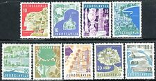 871 - Yugoslavia 1959 - Tourism - Architectura - MNH Set