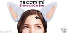 Necomimi Brainwave Controlled Cat Ear Headband White NEUROWEAR Kawaii Neko mimi