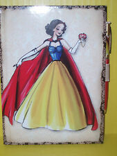D23 Expo Disney Store Princess Designer Journal & Pen Snow White/ NEW
